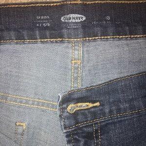 Old Navy 18R Skinny Jean